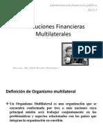 Instit Financ Multilaterales