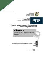 Modulo Admimistracion Del Computador Personal