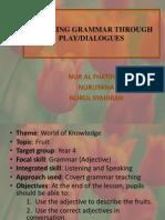 Teaching Grammar Through Play