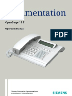 User Manual OpenStage 15 T HP4000