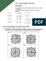 Bab 5 Trigonometry