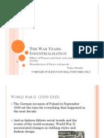 Industialization and War- Women Fashion and Fabrics _ Schalk