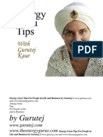 eBook Energy Guru Tips
