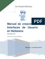 Manual GUI NetBeans 2.0