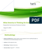 What America is Thinking on Energy Issues - August 14 2012[1]