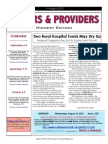 Payers & Providers Midwest Edition –Issue of August 14, 2012