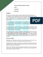 Oil Test Kit Instruction Manual & Test Certificate