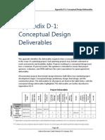 Appendix D1 Con Desing Deliverables