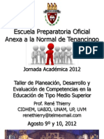 Curso Taller de PDE Competencias NMS