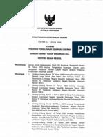 Permendagri No. 13 Tahun 2006 - Pedoman Pengelolaan Keuangan Daerah