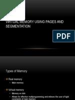 Virtual Memory Using Pages and Segmentation