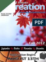 Fall Brochure 2012
