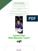 92174 Reiki Manuals 1 2 Leonie Faye PDF