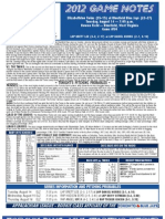 Bluefield Blue Jays Game Notes 8-14