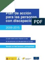 I Plan de Acción para personas con discapacidad