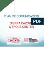 partnership sierra cazorla spocs center