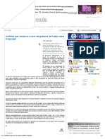 13-08-2012 Confirma Juez sentencia a favor del gobierno de Puebla sobre Ecoparque - radioformula.com.mx