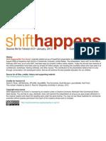 Shift Happens 6.0 Source Slides