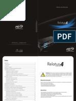 Manual de Instruçôes receptora de monitoramento Relatus 4 PPA_Rev0