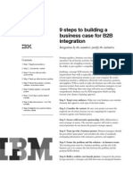 9 Steps to Building a Business Case for B2B Integration