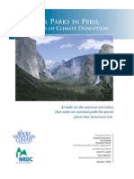 National Parks in Peril in the USA-The Threats of Climate Disruption-2009