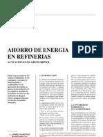 Ahorro de Energía en Refinerías