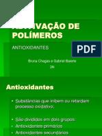 Apresentação ADITIVAÇÃO DE POLÍMEROS