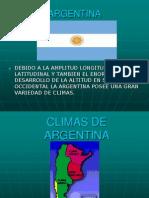 Climas de Argentina
