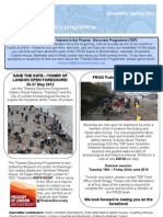 TDP Newsletter Spring 2012