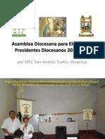 Asamblea Diocesana para eleccion de los Presidentes Diocesanos 2013-2016