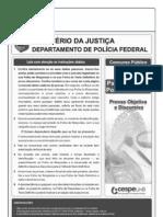 Cespe 2012 Dpf Papiloscopista Da Policia Federal Prova