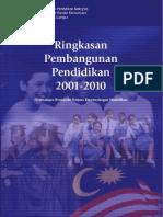 Ringkasan Pembangunan Pendidikan 2001-2010