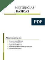 Competencias Basicas - Concepto