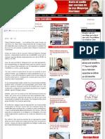 14-08-2012 Responden Los Transportistas Al Llamado de Unidad Del Gobernador