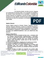 Proyecto Ambiental y DDHH Funedicol
