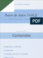 NoSQL - Instalación y puesta en marcha de Apache Cassandra