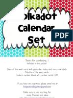 Calendar Pieces Updated