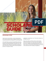 Scholarships Guide 2012