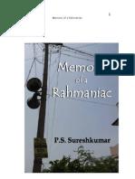Memoirs of a Rahmaniac - Preview