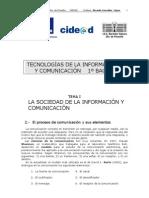 La Sociedad de La Informacion y Comunicacion