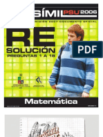 Solucion Ensayo Oficial Matematica Demre 2006 Parte I