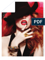 Jessica Chastain in FLAUNT