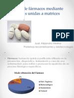 Síntesis de fármacos mediante enzimas unidas a matrices