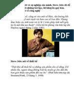 13 Cau Noi Cua Steve Jobs