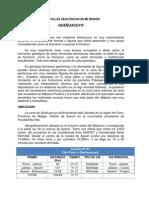 MARAVILLAS GEOLOGICAS DE MI REGION-QUEÑUACUYO-AYAVIRI-MELGAR