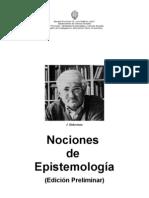 Nociones de Epistemologia