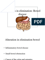 Alteration in Elimination Bowel