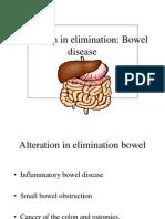 Alteration in Elimination Bowel