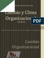 4.6 Clima y cambio organizacional (EXPOSICIÓN)
