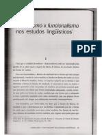 Fromalismo x Funcionalismo